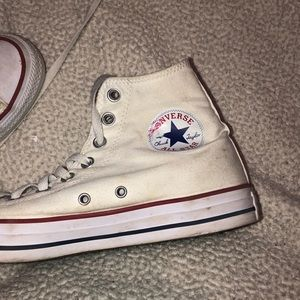 Converse Shoes - Classic White converse (good condition)